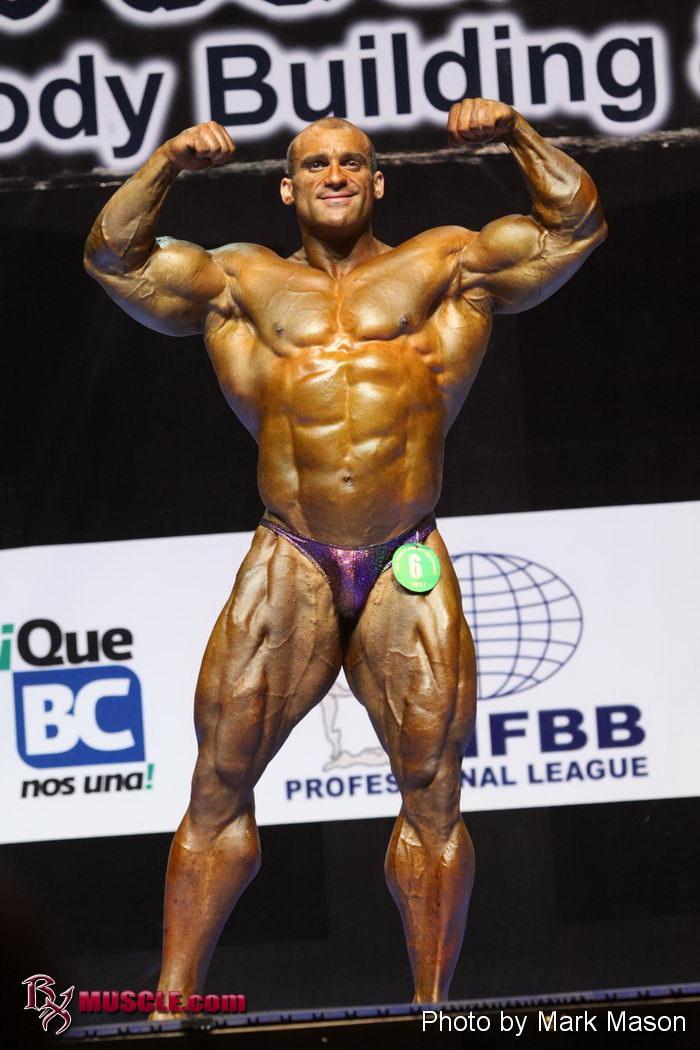 Alfonso   DelRio - IFBB Tijuana Pro 2011 - #1