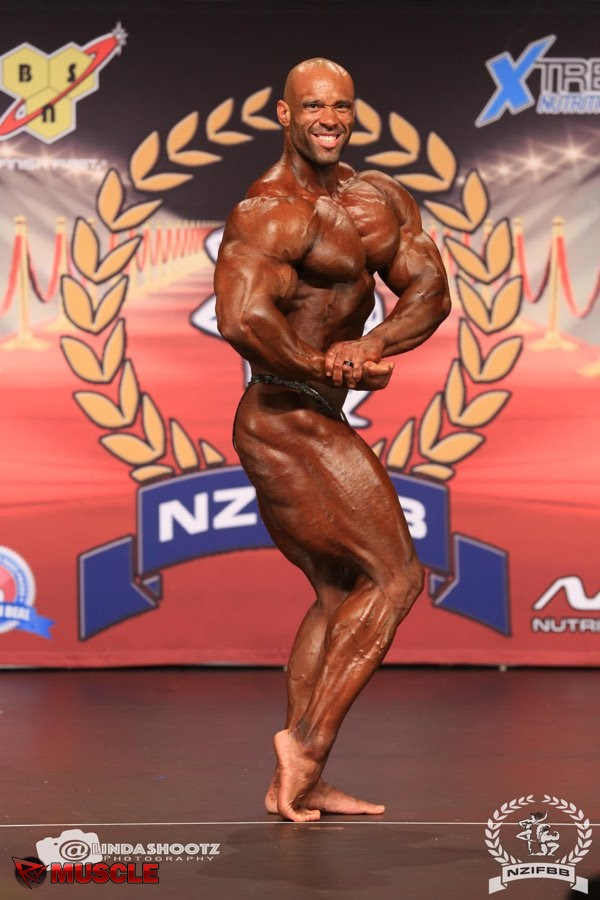 Juan  Morel - IFBB New Zealand Pro 2017 - #1
