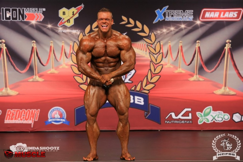 Dallas  McCarver - IFBB New Zealand Pro 2017 - #1