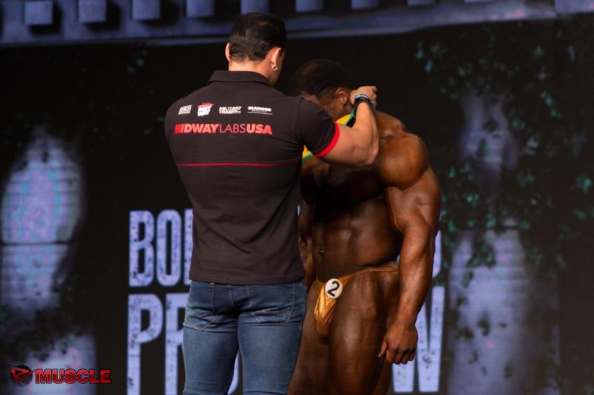 Michael  Lockett - IFBB Arnold Brasil  2017 - #1