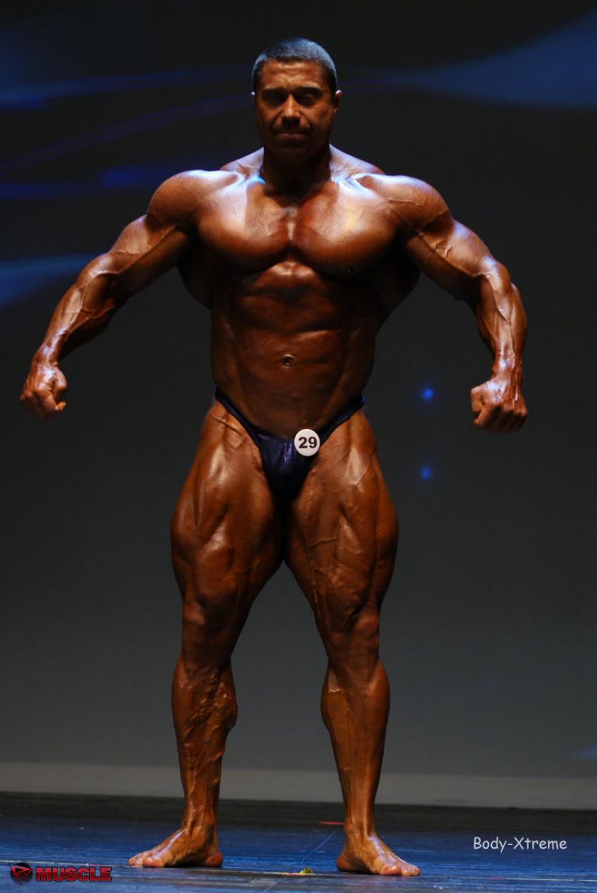 Sergey  Shelestov - IFBB Masters Olympia 2012 - #1