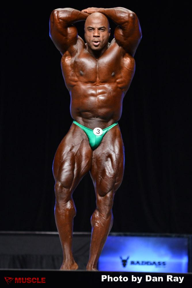 Toney  Freeman - IFBB Olympia 2012 - #1