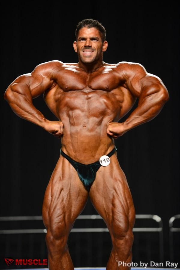 Frankie  Paulk - NPC Nationals 2012 - #1