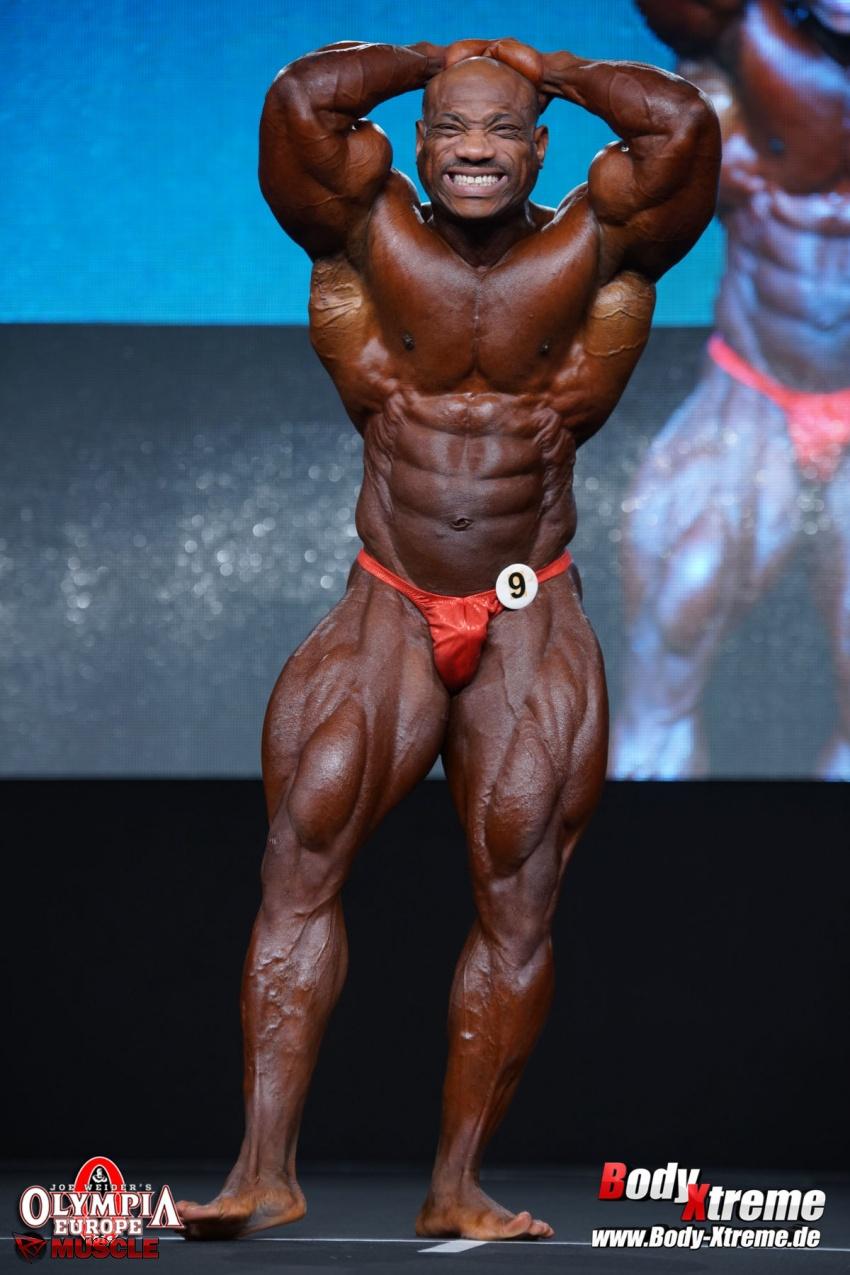 Dexter  Jackson - IFBB Olympia Europe Pro 2016 - #1