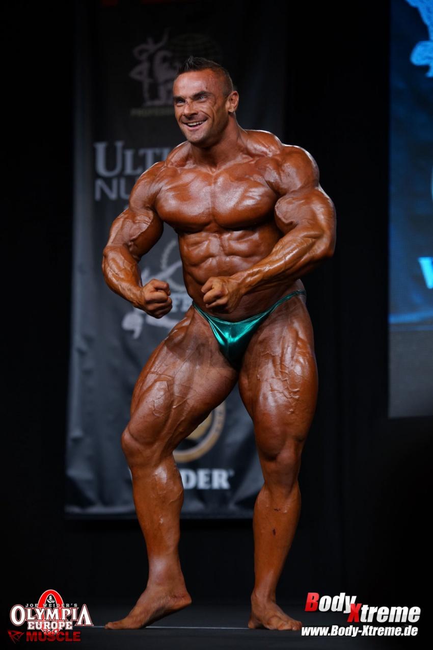 Tomas  Kaspar - IFBB Olympia Europe Pro 2016 - #1