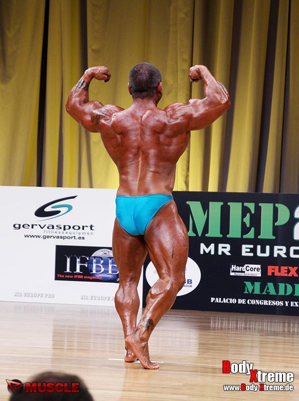 Carlos Ruiz  Asensio - IFBB Mr Europe Pro 2012 - #1