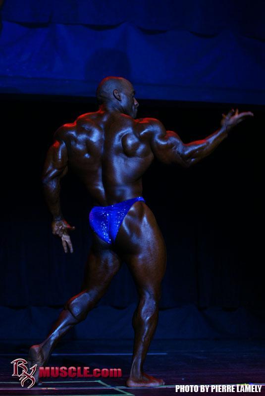 Darrem  Charles - IFBB Masters Pro World 2011 - #1