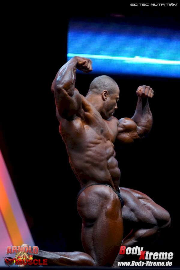 Shawn  Rhoden - IFBB Arnold Europe 2015 - #1