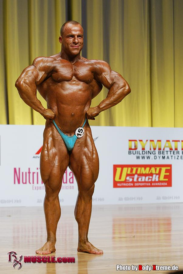 Angel   Higueras - IFBB Mr Europe Pro 2011 - #1