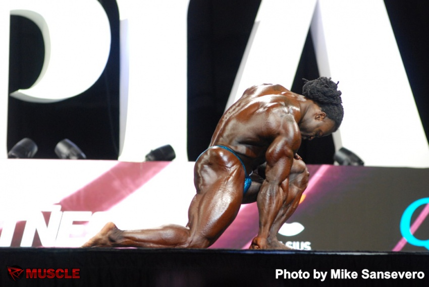 William  Bonac - IFBB Olympia 2017 - #1