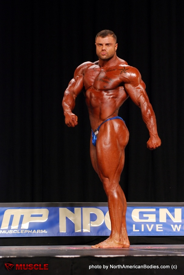 Michael  Toscano - NPC Nationals 2016 - #1