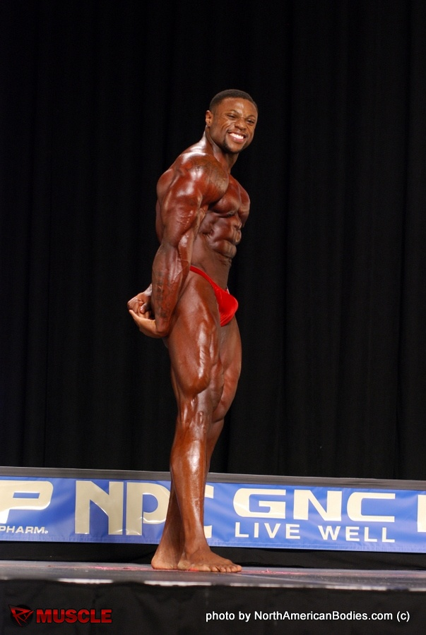 Sirod  Williams - NPC Nationals 2016 - #1