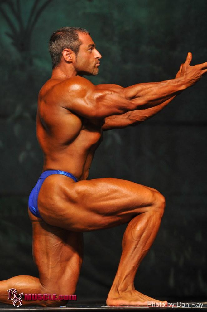 Stylish bodybuilder mark alvisi