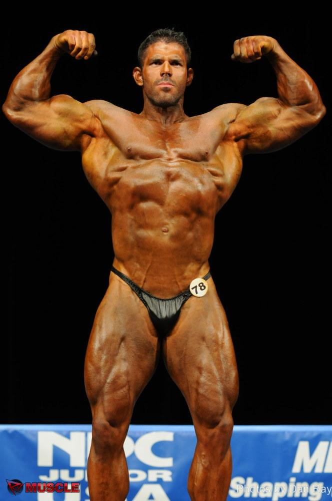 Frankie  Paulk - NPC Jr. USA 2012 - #1