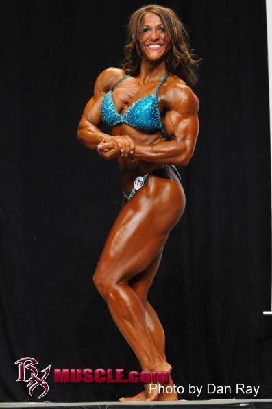 Female Bodybuilder Sarah Hayes