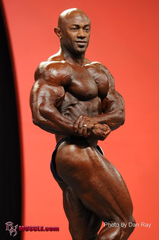 Roc   Shabazz - IFBB Olympia 2010 - #1