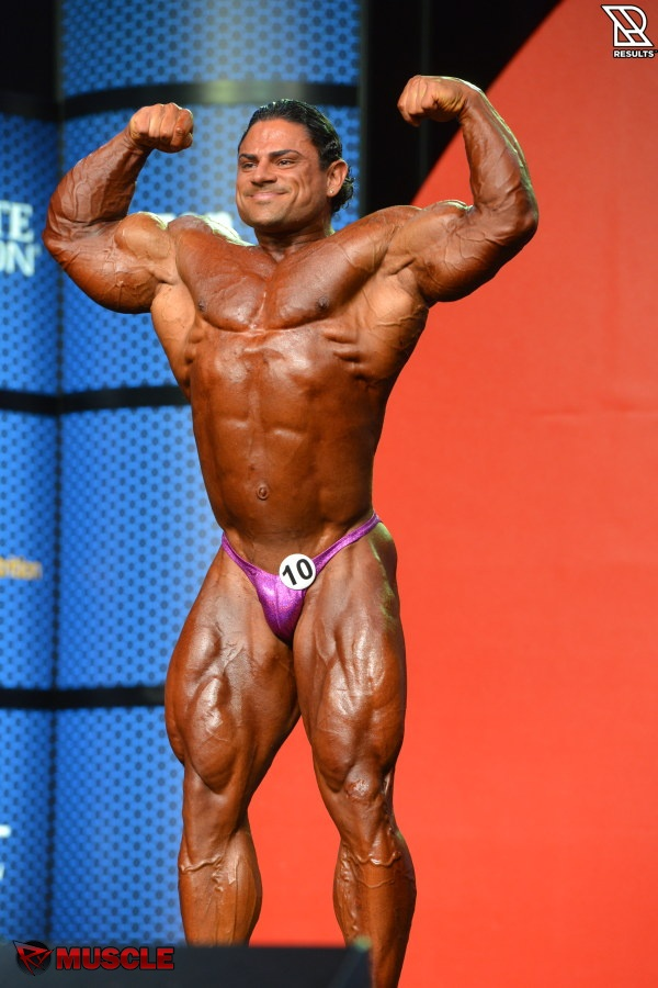 Dobromir   Delev - IFBB Olympia 2015 - #1