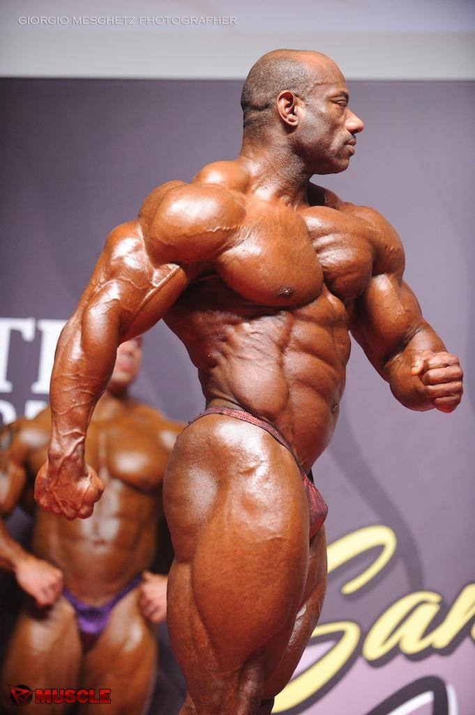Dexter  Jackson - IFBB San Marino Pro 2014 - #1