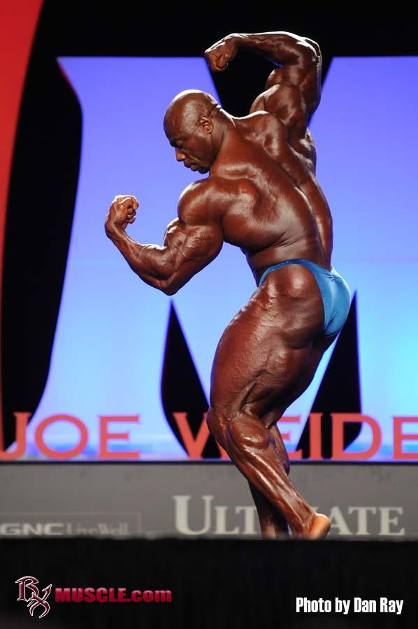 Toney  Freeman - IFBB Olympia 2010 - #1