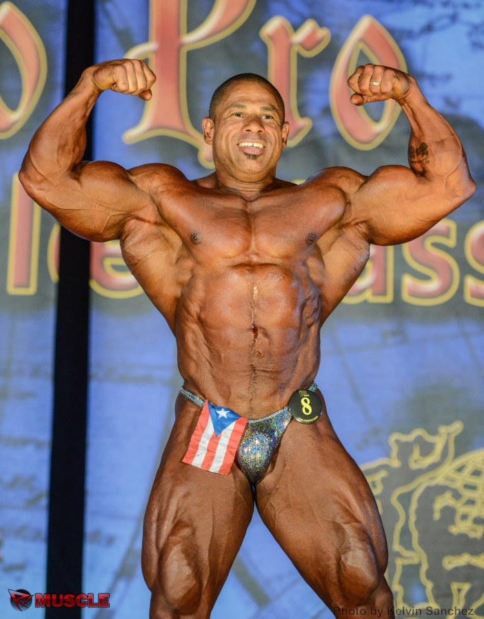 Milton  Martinez - IFBB Wings of Strength Puerto Rico Pro 2016 - #1