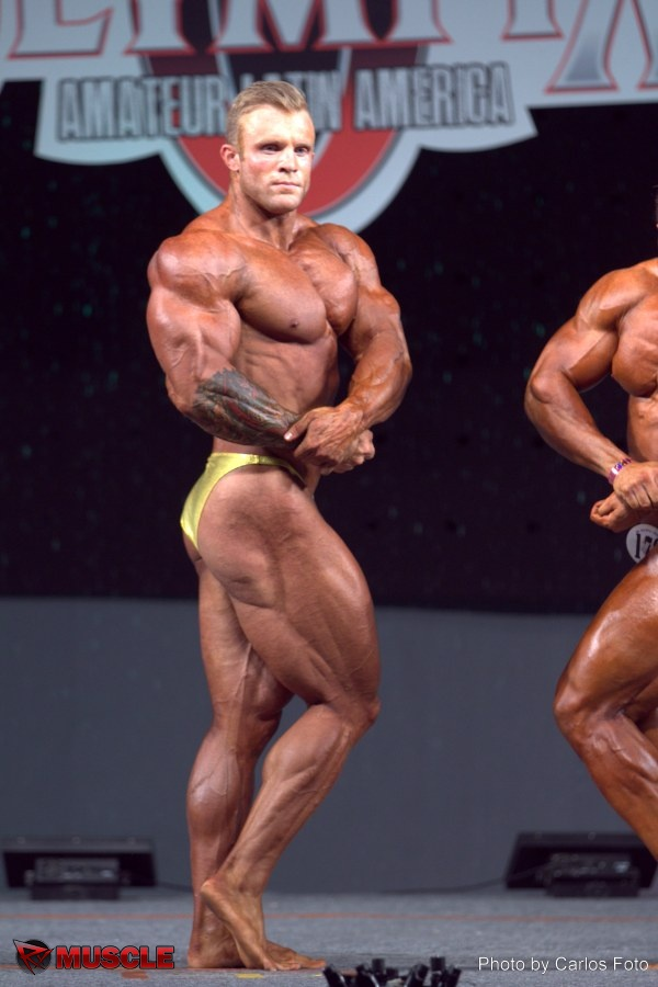Iain  Valliere - IFBB Amateur Olympia Mexico 2014 - #1