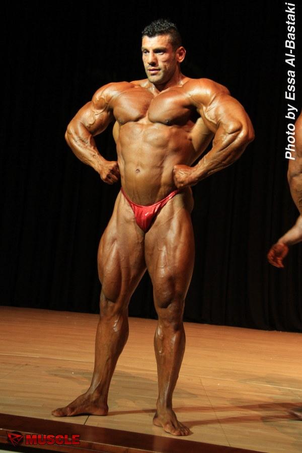 Zaher  Moukahal - IFBB Dubai Pro 2014 - #1