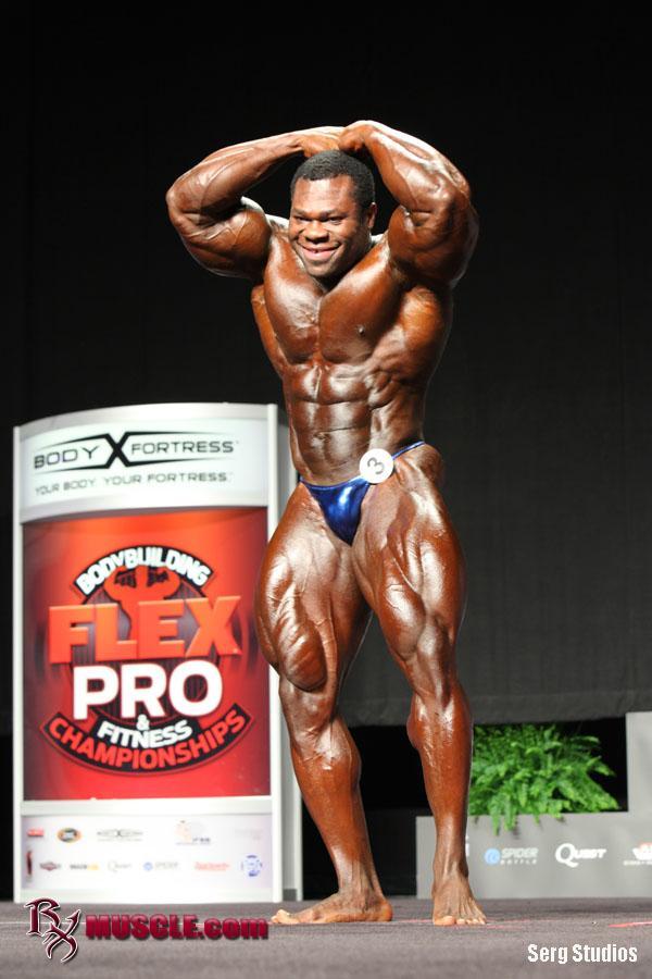 Lionel   Beyeke - IFBB FLEX Pro  2012 - #1