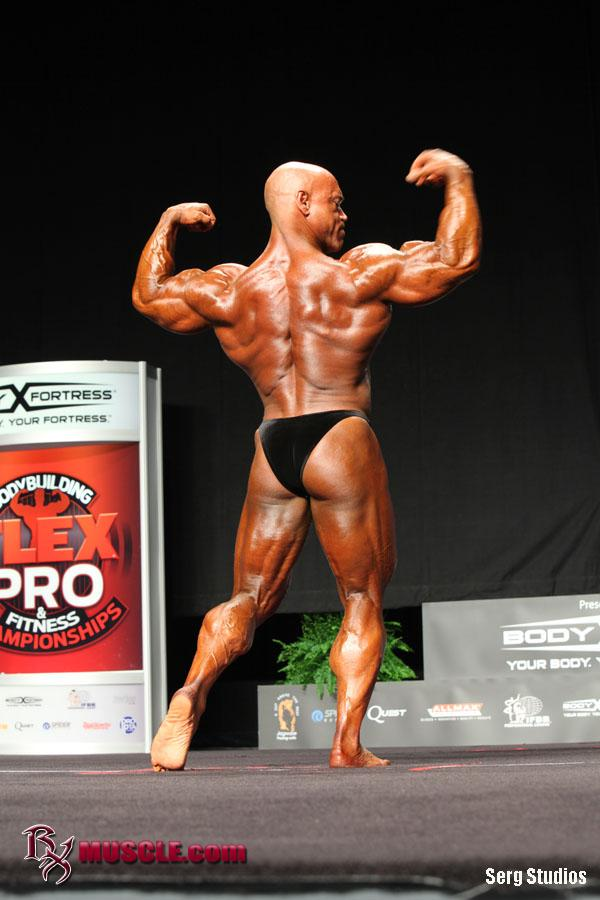 Rusty   Jeffers - IFBB FLEX Pro  2012 - #1