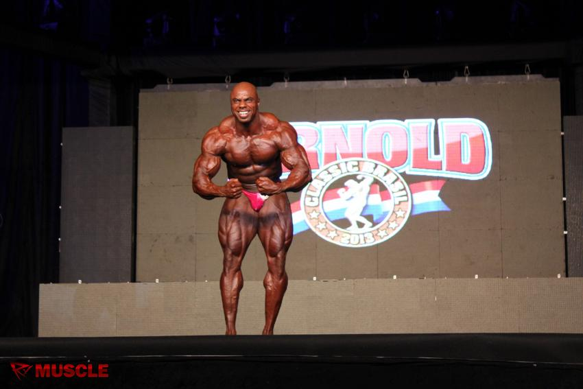 Toney  Freeman - IFBB Arnold Brasil  2013 - #1