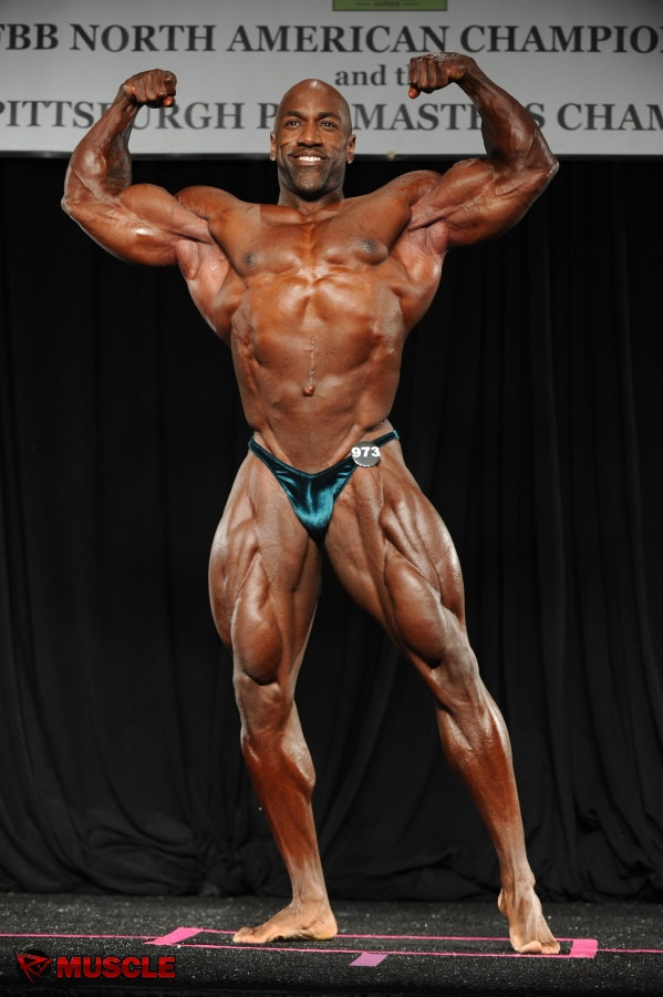 James  Culberson - IFBB North American Championships 2014 - #1