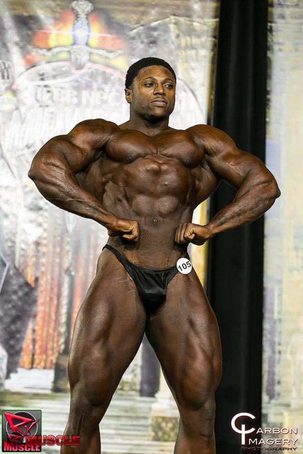 Sirod  Williams - NPC Midwest Championship 2014 - #1