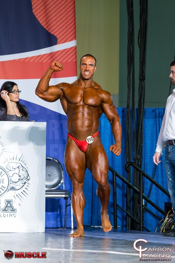 Andrew  Hudson - IFBB Arnold Amateur 2014 - #1