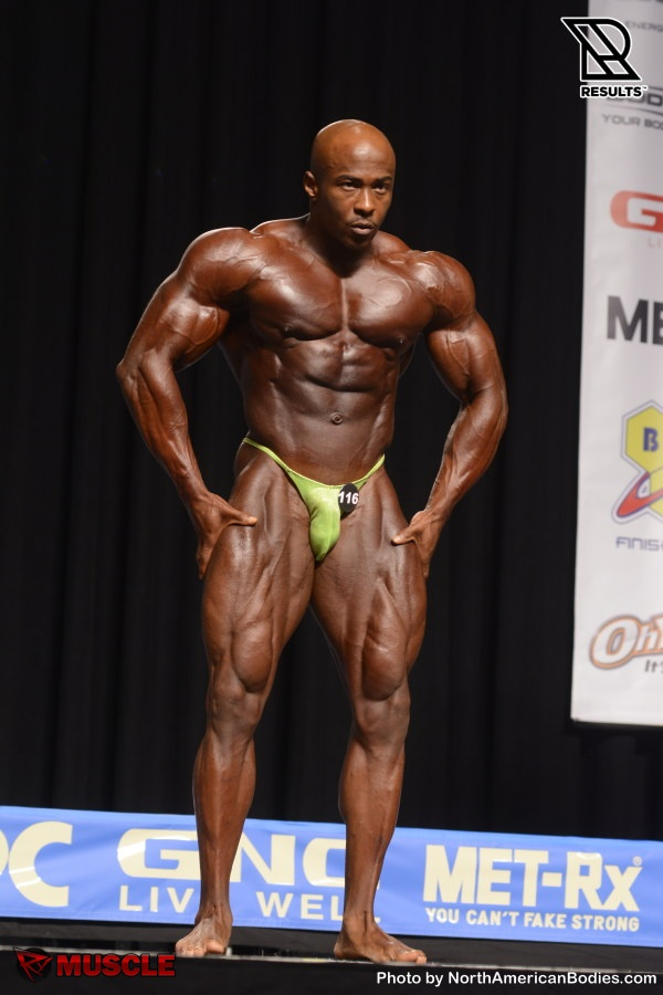 Jermaine  Todd - NPC Nationals 2015 - #1