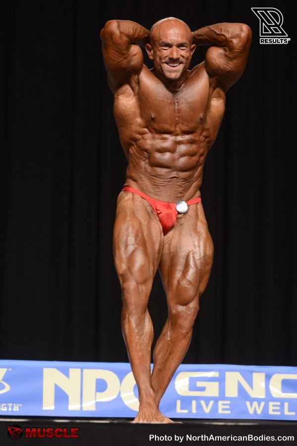 Michael  Gonzalez - NPC Nationals 2015 - #1