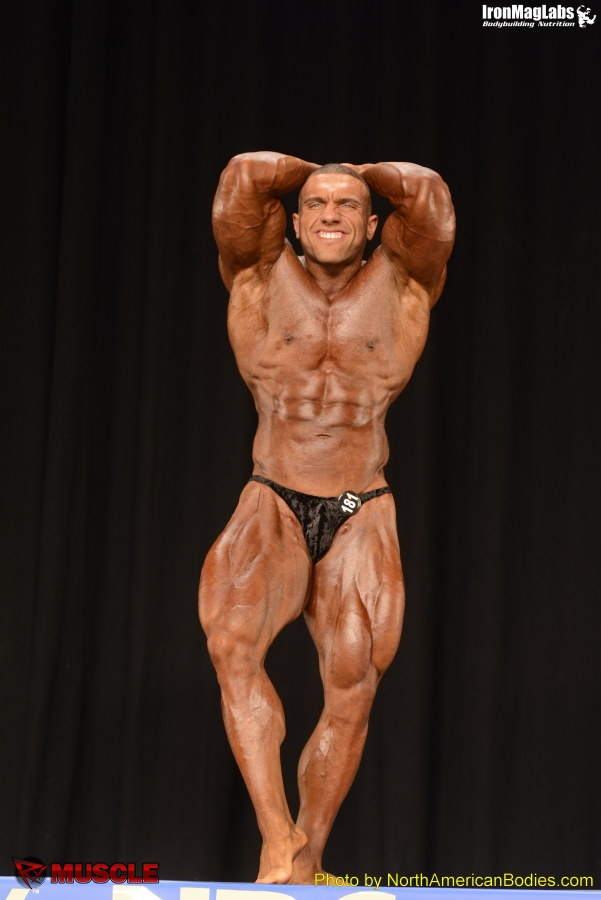 Dominick  Cardone - NPC Nationals 2014 - #1