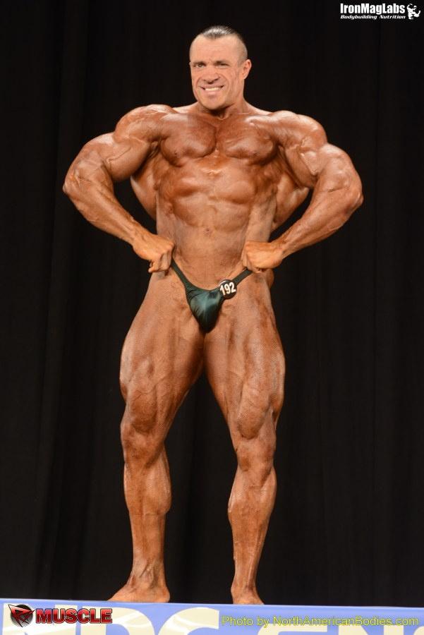Audrius  Jegelevicius - NPC Nationals 2014 - #1