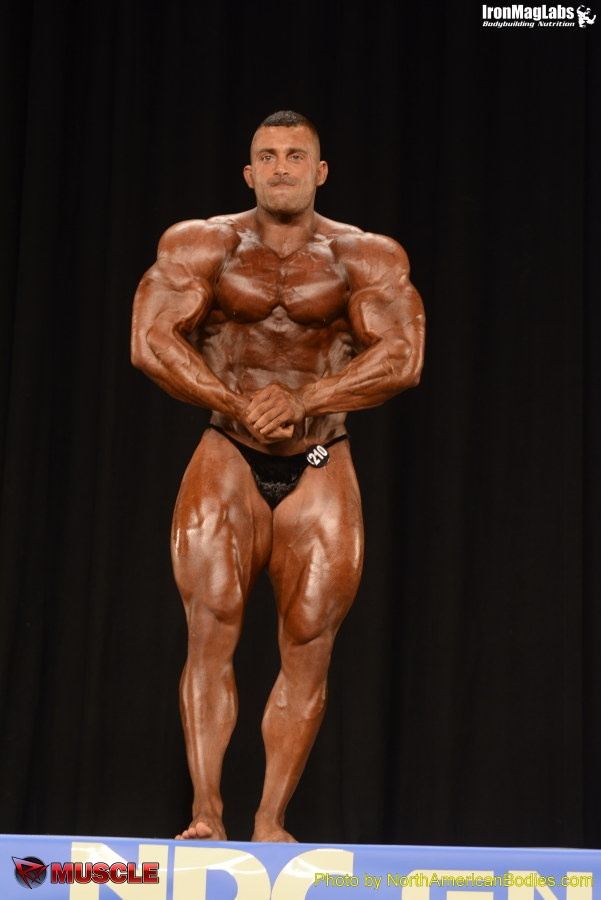 Phillip  Visicaro - NPC Nationals 2014 - #1