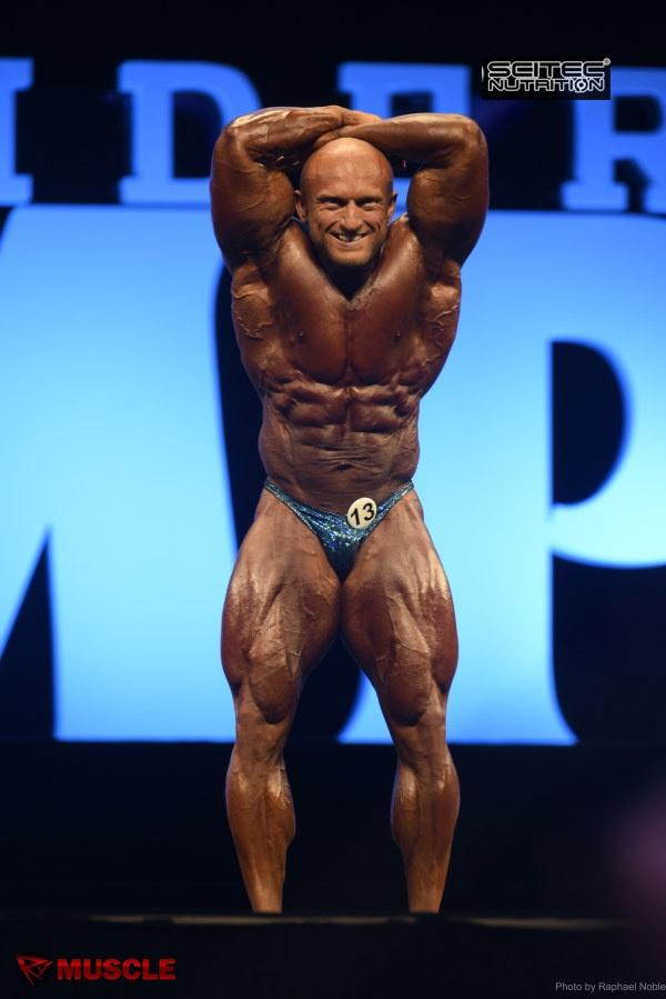 Vojtech  Koritensky - IFBB Olympia 2016 - #1