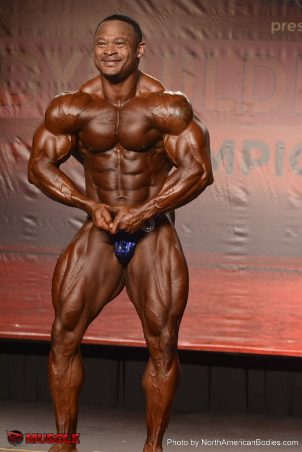 Timmy  Gaillard - IFBB Wings of Strength Tampa  Pro 2014 - #1